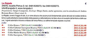 Guida Oro Veronelli 2014