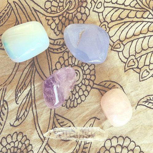Crystal Set for New Beginnings