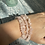 Thumbnail: Rose Quartz Crystal Bracelet