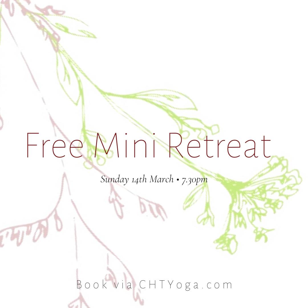 Monthly Mini Retreat