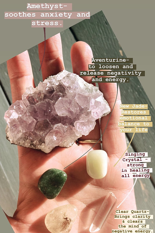 Crystal set for Anxiety
