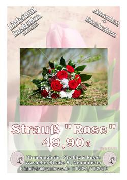 "Strauß ""Rose"""
