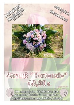 """Strauß """"Hortensie"""""""