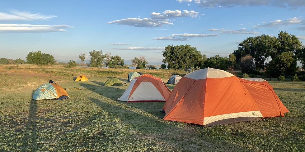Overnight Camping at Mueller State Park