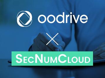 Oodrive obtient la qualification SecNumCloud