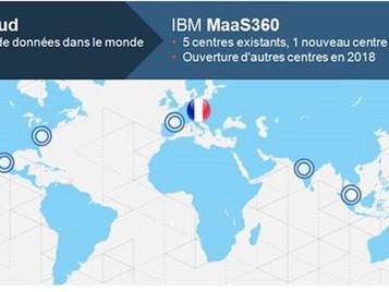IBM MaaS360 with Watson étend sa présence mondiale avec un nouveau datacenter Cloud en France