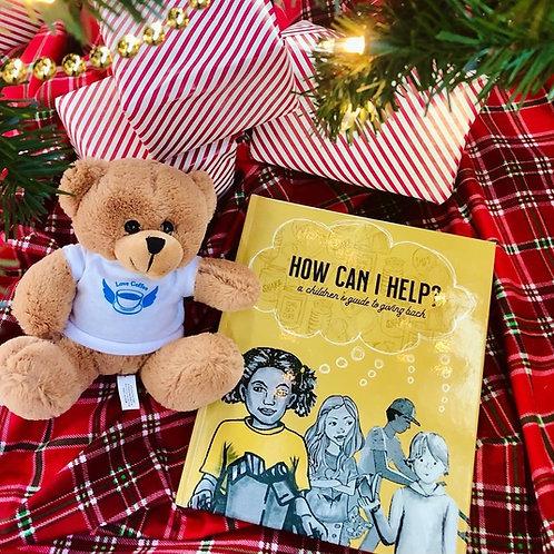 """How Can I Help?"" + Teddy Bear Package"