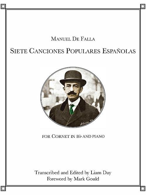 Siete Canciones populares Españolas (in Bb), download