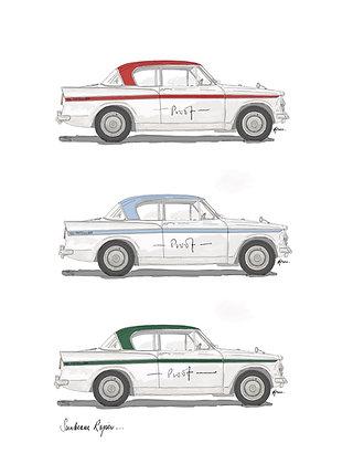 Sunbeam Rapier (3 Cars).