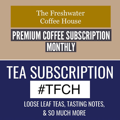 TFCH Tea and coffee 'mixed' subscription