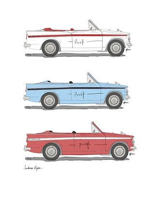 Sunbeam Rapier Convertible (3 Cars).