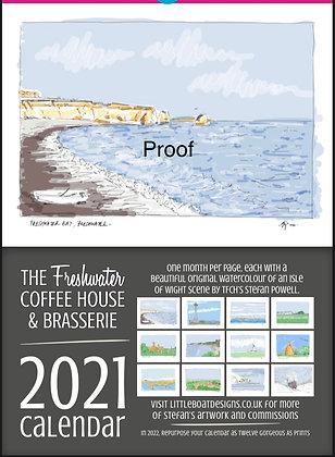 IOW landmarks Calendar