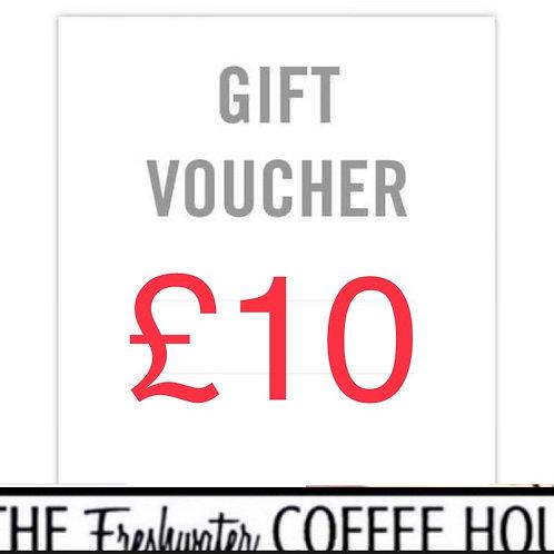 £10 TFCH Gift Voucher