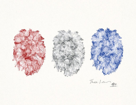 Three Lions (Limited Edition)