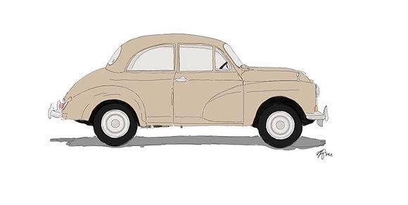 Morris Minor (Single Car)