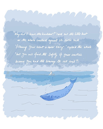 "(P) ""Bravery to set sail"""