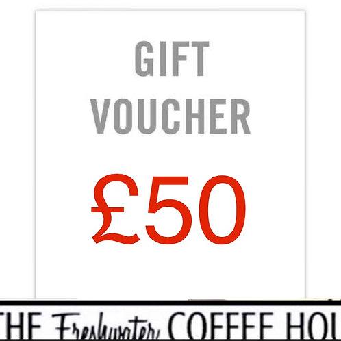 £50 TFCH Gift Voucher