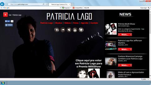 Site - Artista Patricia Lago