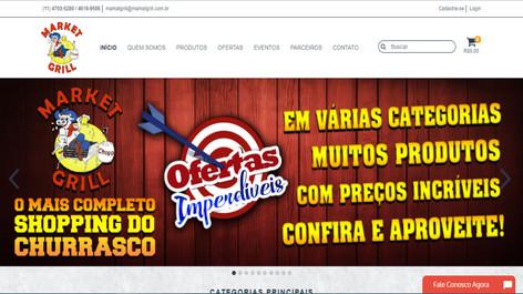 Loja Virtual - Market Grill