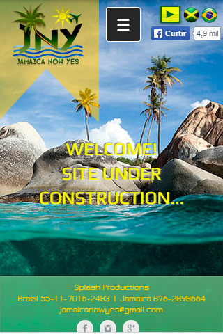 Site mobile - Jamaica Now Yes