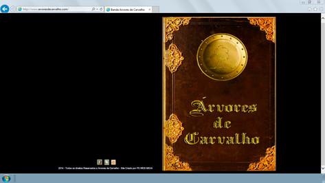 Site - Banda Arvores de Carvalho