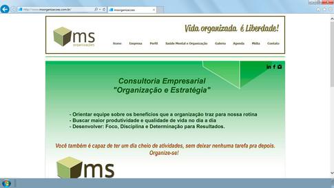 Site - MS Organizações