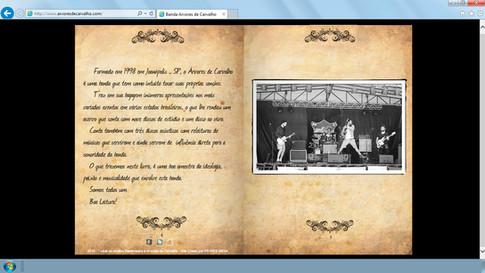 Site - Banda Arvore de Carvalho
