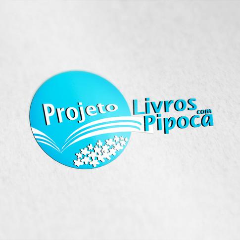 LOGO - PROJETO LIVROS COM PIPOCA