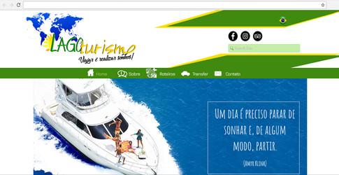 Site - Agencia Lago Turismo