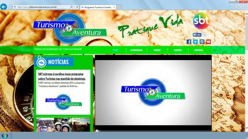 Site - Programa Turismo e Aventura