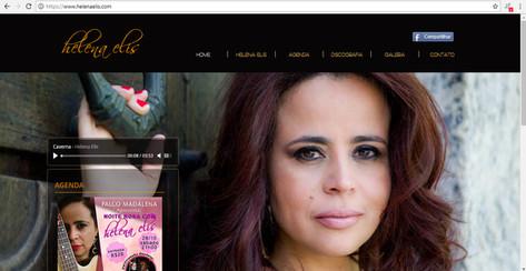 Site - Cantora Helena Elis