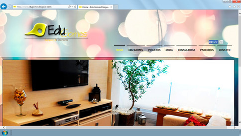 Site - Edu Gomes Designer de Interiores