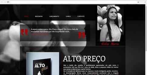 Site - Escritora Lidia Maria