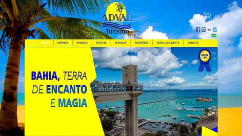 Site - Adval Viagens e Turismo