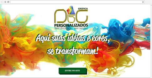 E-commerce - Grafica D&G Personalizados