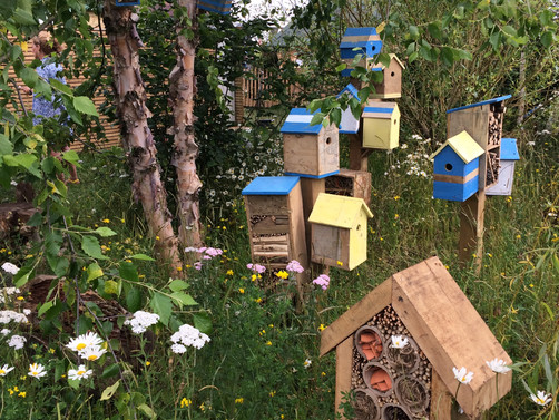 A Gallery of Bee Hotels: Part 1 - Woodland Cottages