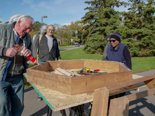Weekends #1 & 2: Spruce Park Pollinator Garden Project