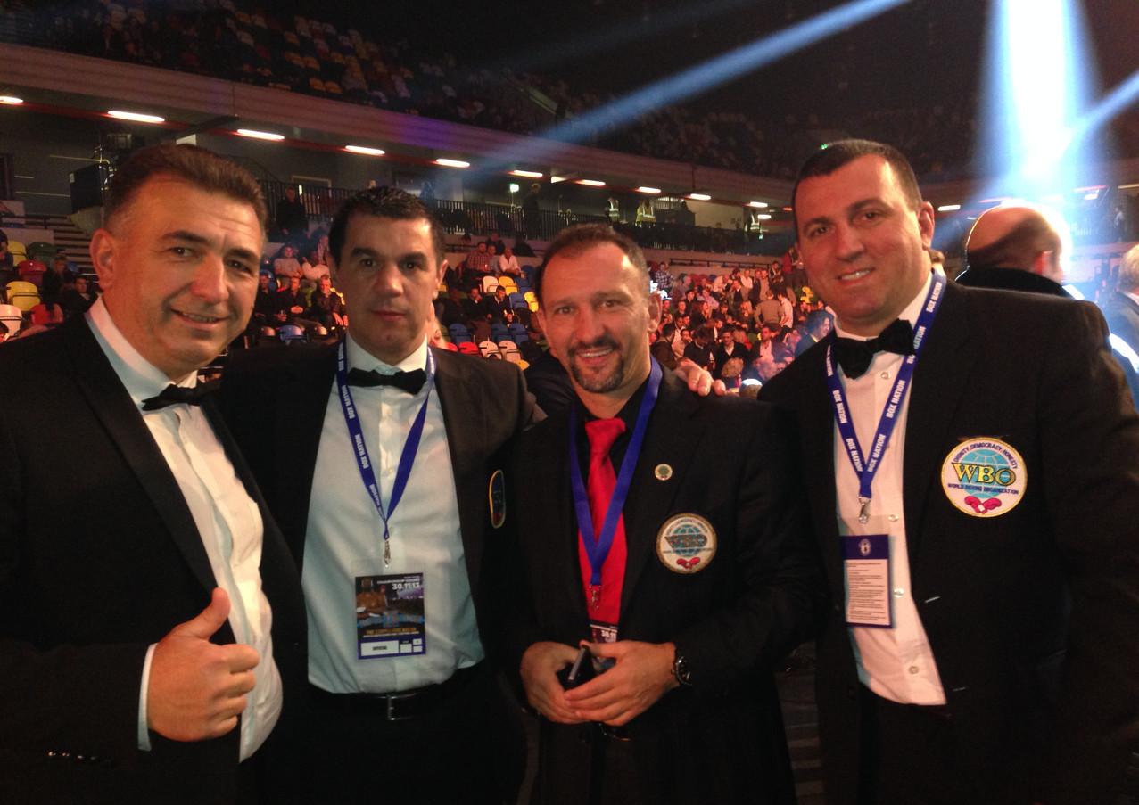 Gino with Mihai Leu, Ko-Ko Kovács & Atti