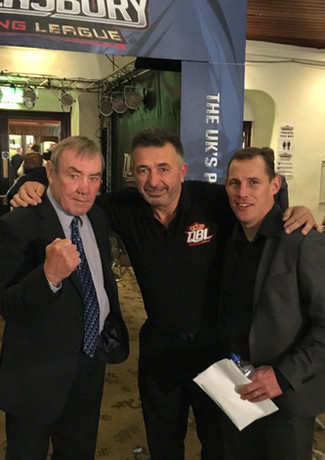 Gino with Alan & Ross Minter