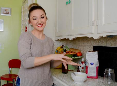 Reluctant Housewife: DIY Sugar Scrub