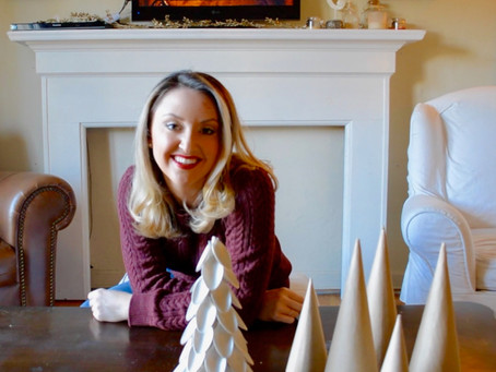 Reluctant Housewife: Holiday Spoon Trees
