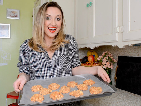 Reluctant Housewife: Carrot Cake Cookies