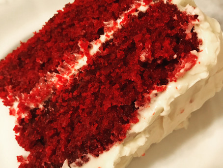 Reluctant Housewife: Traditional Southern Red Velvet Cake