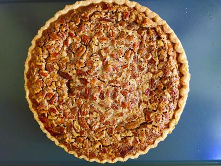 Reluctant Housewife: Pecan Pumpkin Pie