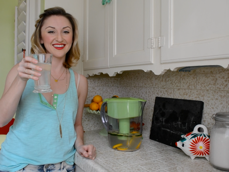 Reluctant Housewife: Spa Water Recipe