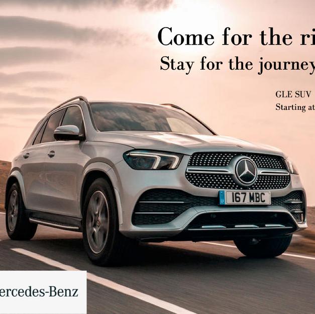 Mercedes Benz Spec Ad