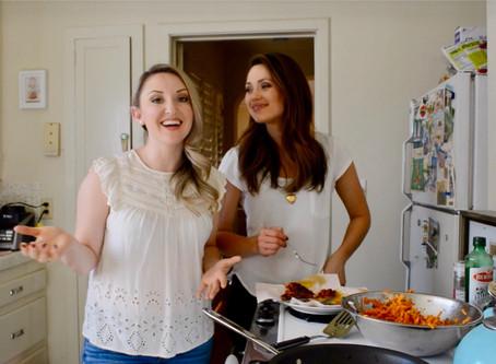 Reluctant Housewife: Sweet Potato Latkes (potato pancakes)