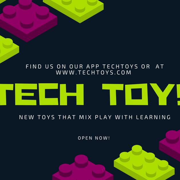 Tech Toys Spec Ad