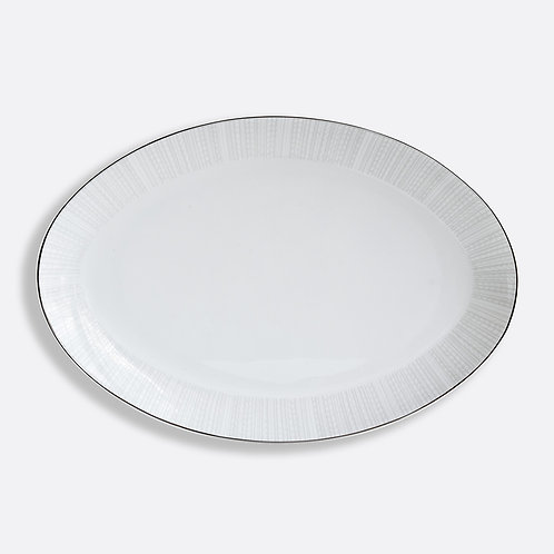 Plat ovale 38 cm Silva - BERNARDAUD