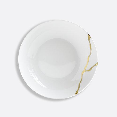 Assiette creuse calotte  19 cm Kintsugi Sarkis - BERNARDAUD